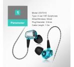 Audífonos Con Cable In Ear Hi-Fi DSIT018L Doosl