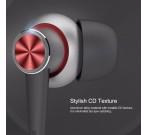 Audífonos Con Cable Y5 Stereo Rojo Rock Space