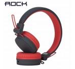 Audífonos Con Cable Desmontable Y10 Rojo Rock Space